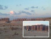 """صور.. """"المنصورة الجديدة"""" تظهر للنور.. انتهاء الهيكل الخرسانى لمشروع سكن مصر بالمدينة الجديدة فى أقل من 3 أشهر.. متوسط نسبة التنفيذ تخطت الـ50%.. وإنجاز أعمدة الدور الأرضى بـ""""دار مصر"""" بعد أسبوعين من أمر الإسناد"""