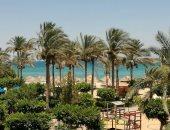 إجازة نصف العام ترفع إشغالات الفنادق بالعين السخنة لـ90% .. صور