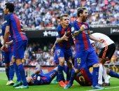"""فيديو.. """"الإثارة"""" عنوان المواجهات الأخيرة بين برشلونة وفالنسيا بالكأس"""