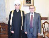 مفتى روسيا يدعو الرئيس السيسى لزيارة المسجد الجامع بموسكو