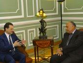 وزير الخارجية يبحث مع المفوض العام للأونروا مستجدات الوضع الإنسانى بفلسطين