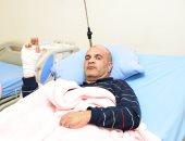 ليبيون مصابو عمليات إرهابية: نشكر الرئيس السيسي.. وجيش مصر مدرسة نتعلم منها