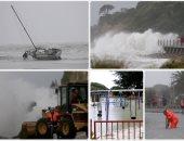 """سيول وفيضانات وانقطاع الكهرباء بسبب إعصار """" فيهى"""" بنيوزيلندا"""