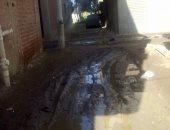 صور.. اضبط مخالفة.. غرق شوارع قرية التوفيقية بدمياط بسبب الأمطار