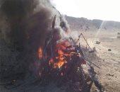 الجيش الثالث يلقى القبض على 8 مشتبه بهم ويدمر 12وكرا للإرهابين بسيناء