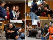 كاد يفتك به.. اعتداء والد 3 فتيات تعرضن للتحرش من طبيب أمريكى لحظة رؤيته بالمحكمة