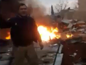 فرق الإغاثة تعثر على حطام الطائرة التركية المنكوبة