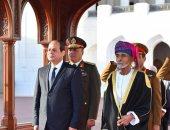 الرئيس السيسى يلتقى نائب رئيس الوزراء العمانى فهد بن محمود آل سعيد