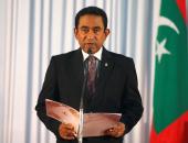 رئيس جزر المالديف يقر بهزيمته فى الانتخابات الرئاسية أمام مرشح المعارضة