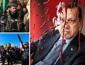 """""""السفاح يحتل عفرين"""".. جيش أردوغان يؤكد سيطرته على وسط المدينة بالكامل.. تقارير: نزوح 200 ألف سورى هربا من الانتهاكات التركية.. والقوات الكردية تتهم أنقرة بانتهاك التاريخ والثقافية الكردية"""