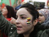 صور.. مظاهرات حاشدة فى لبنان احتجاجا على ارهاب أردوغان فى عفرين السورية