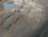 قارئ يشكو كسر ماسورة مياه بقرية الشمارقة فى كفر الشيخ