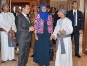 الرئيس السيسي يستمع لعرض عن دار الأوبرا العمانية ..(فيديو)