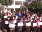 """صور.. وكيل تعليم جنوب سيناء للطلاب: """"التفوق أسعد لحظات طالب العلم"""""""