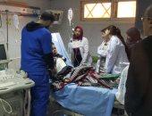 """صور.. فريق طبى بجامعة سوهاج يعيد قلب طفل للحياة بعد توقف """"النبض"""""""