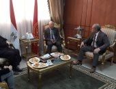 السفير الإيطالى يشيد بالجهود المصرية المكثفة المتعلقة بقضية ريجينى