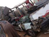 بالأسماء.. إصابة 11 شخصا فى حادث تصادم بكفر الشيخ