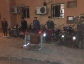 مباحث القاهرة تضبط عصابة سرقة الدراجات ومساومة أصحابها لدفع فدية بالسلام