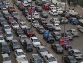 شلل مرروى بشوارع القاهرة والجيزة وسط انتشار الخدمات المرورية