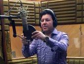 """صور.. أمير الغناء العربى ينتهى من تسجيل """"وعد منى"""" لـ """"عيد الحب"""""""