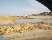 قارئة تشكو تفريغ مياه الصرف الصحى بشكل يومى فى صحراء التجمع الخامس