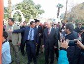 محافظ القاهرة يصل الأهلى لمناقشة إجراءات تراخيص منشآت القلعة الحمراء