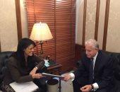 وزيرة السياحة ومحافظ جنوب سيناء يناقشان خطة ترويج المحافظة بالخارج