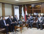 محافظ كفر الشيخ يستقبل نائب رئيس الهيئة العامة للبترول لافتتاح مستودع غاز