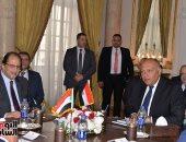 """سامح شكرى: اجتماعات """"مصر والسودان"""" بحثت إزالة عقبات تعزيز علاقات البلدين"""