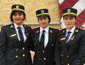 السيدات يحتفلن بأعياد شم النسيم فى حراسة الشرطة النسائية