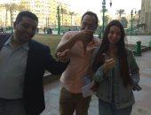 """الراقصة الروسية """"جوهرة"""" تنهى إجراءات الإقامة بمصلحة الجوازات فى التحرير"""