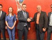 وزارة الرياضة تشارك المركز الثقافى الروسى فى تدشين البيت الروسى للمشجع المصرى