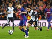 فيديو.. العارضة تنقذ برشلونة من الهدف الأول لفالنسيا بكأس إسبانيا
