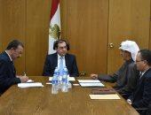 وزير البترول يبحث مع عادل الصقر الإعداد للمؤتمر العربى الدولى للثروة المعدنية