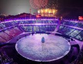 """صور.. عروض فنية واستعراضية فى افتتاح أولمبياد """"بيونج تشانج"""" بكوريا الجنوبية"""
