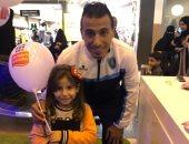 محمد عبد الشافى يشارك فى حملة للتوعية بمرض السرطان.. صور