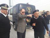 مدير أمن الجيزة يتفقد الحالة الأمنية بميدان الجلاء