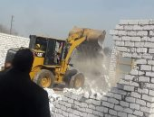 حملة لإزالة المبانى المخالفة بجميع وحدات مركز ابوكبير شرقية