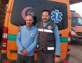 سائق ومسعف يعثران على 150 ألف جنيه ببنى سويف أثناء محاولة إنقاذ مصاب بحادث