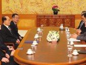 صور.. شقيقة زعيم كوريا الشمالية تلتقى رئيس جارتها الجنوبية خلال الأولمبياد