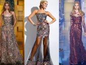 صور.. اعرفى أحدث أشكال الفساتين المطرزة لو بتدورى على حاجة مختلفة