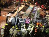 مصرع 24 وإصابة 2 آخرين نتيجة سقوط حافلة ركاب فى باكستان
