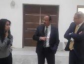 """المدير التنفيذى لـ""""تحديث الصناعة"""" يزور مركز مصر للمعارض لبحث التنسيق المشترك"""