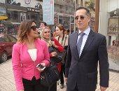 """سفير سويسرا يتجول بالأماكن التاريخية لبلاده فى وسط القاهرة """"صور"""""""