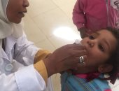 تفاصيل الحملة القومية ضد شلل الأطفال بالمحافظات × 8 معلومات