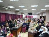 صور .. انطلاق حملة صوتك لمصر بكرة بأشمون لدعوة السيدات للمشاركة فى الانتخابات