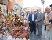 صور .. محافظ جنوب سيناء يتفقد تطوير منطقة السوق القديم وقصر ثقافة شرم الشيخ