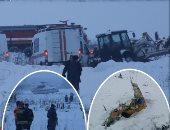 استمرار البحث عن أشلاء ضحايا تحطم الطائرة الروسية وسط الثلوج
