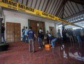 إصابة 4 أشخاص فى هجوم لمسلح بسكين أثناء توجههم لكنيسة بإندونيسيا (صور)