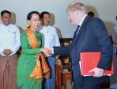 وزير خارجية بريطانيا يطالب بضمان سلامة عودة الروهينجا إلى ميانمار